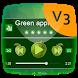 Green apple PlayerPro Theme by Best Power Themes