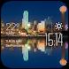 Dallas weather widget/clock by Widget Dev Team