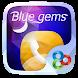 Blue Gems GO Launcher Theme by Freedom Design