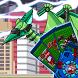 Ptera Green - Transform! Dino Robot by TheFlash&FirstFox