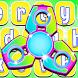 Fidget Spinner Keyboard by Teddy App Mania