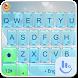 Bright Glass Keyboard Theme by Fashion News