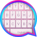 Grey Pink Theme&Emoji Keyboard by Fun Emoji Theme Creator