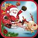 Santa Claus Jumping Gift by WebTrader