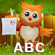 ABC Owl Preschool Alphabet by Beansprites LLC