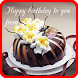 Happy birthday cake frame by mapleland