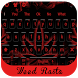 Weed Rasta RED keyboard by Bestheme keyboard Creator