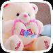 Love Cute Teddy Theme by Dream world
