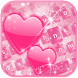 Pink love Keyboard Theme by Fantasy Keyboard studio