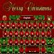Merry Christmas Keyboard theme by spikerose