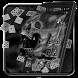 Black Skull 2D Theme by creative 3D Themes