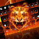 Fire Tiger Keyboard Theme by Keyboard Dreamer