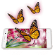Pink Butterfly Live Wallpaper by Live Wallpaper Workshop