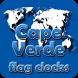 Cape Verde flag clocks by modo lab