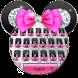 Shine Pink diamond minny keyboard by Bestheme Boutique keyboard