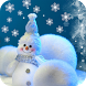 Christmas Snowman by orchid