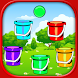 Matching Ball and Bucket by Indian Girls Games
