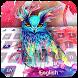 Graffiti owl keyboard by Bestheme theme&keyboard studio 2018
