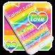 Colour Love Keyboard by Enjoy the free theme
