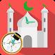 Prayer Times & Qibla Compass, Azan, Quran, Ramadan