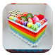 variasi resep rainbow cake by nikend
