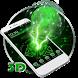 Neon Green Technology 3D Theme by Elegant Theme