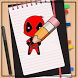 How to Draw Deadpool by How to Drawing Tutorials