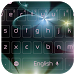 Neon floret curvy keyboard by live wallpaper collection