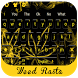 Weed Rasta YELLOW keyboard by Bestheme keyboard Creator