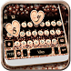 Rose Gold Luxury Pearls Keyboard Theme by Fashion theme for Android-2018 keyboard