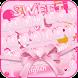 Pink Ribbon Keyboard Theme by Fantasy Keyboard studio