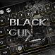 Black Gun Keyboard Theme by Keyboard Dreamer