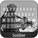Soldier Keyboard Theme by Styles Keyboard Forever