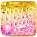 Pink Love Sweet Typany Keyboard by Cool Themes and art work