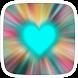 Blur Heart Theme by Heartful Theme
