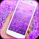 Purple lavender theme by eva cool theme