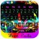 Weed Rasta COLOR NEON keyboard by Bestheme keyboard Creator
