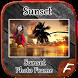 Sunset Photo Frames by Amazing Night Riders