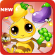 Bees Fruit Brilliant Link by GaMewa