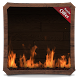 Woody Fire Flames HD WALLPAPER by HD Live Wallpaper HQ