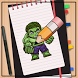 How to Draw Hulk by How to Drawing Tutorials