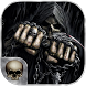 Death Skull Grim reaper Keyboard Theme by Fantasy Keyboard studio