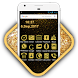 Gold Launcher : Gold Theme & Icon Pack, Wallpaper by Launcher and Icon Pack