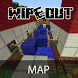 Wipeout Map for Minecraft PE by Cool MineApps