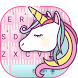 Hued Rainbow Unicorn Keyboard by Me&Art Android Theme Designer