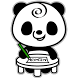 Memo Pad Panda (sticky) note by peso.apps.pub.arts