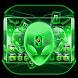 Alien technology Keyboard Theme - alien green tech by NeoStorm We Heart it Studio