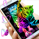 Tigers Neon Color Themes by Lele Theme Studio