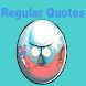 Regular Quotes by owl studio