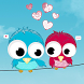 Love Birds Theme by Excellent launcher
